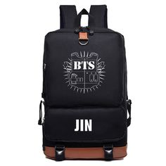 7a17a13ceb KPOP Bts bangtan boys jimin suga jhope nylon Fashion Schoolbag Backpack  Satchel bag Produtos Bts
