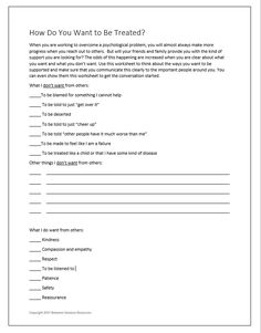 Between Sessions Grief Therapy Worksheets