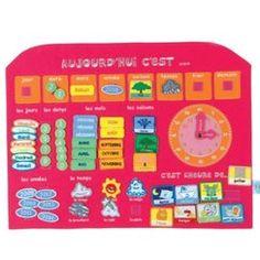 faire un calendrier perp tuel pour enfant gestion classe pinterest. Black Bedroom Furniture Sets. Home Design Ideas