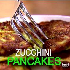 Ina's golden-brown zucchini pancakes: a great (and tasty!) way to eat your vegetables.