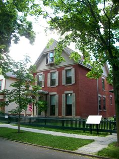Susan B Anthony House in Rochester, NY © copyright Mike Kraus