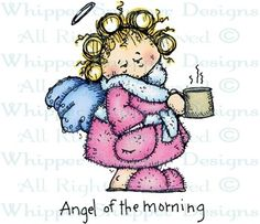 Angel of the Morning - People - Rubber Stamps - Shop