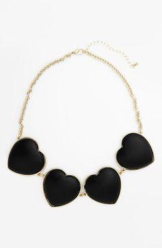 Love! Heart Statement Necklace