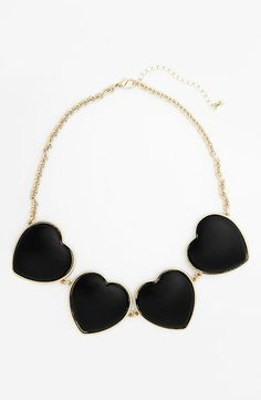 Love! Heart Statement Necklace