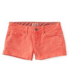 aeropostale jean shorts | aeropostale-womens-colored-denim-shorty-shorts