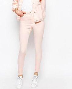 pastel pink jeans - Google Search