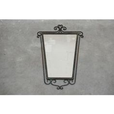 ScotchCollectables - curled framed mirror