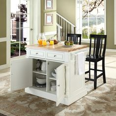 Kitchen Island Stools With Backs Are Very Comfortable : Block Black Top Design Kitchen Island Stools With Backs
