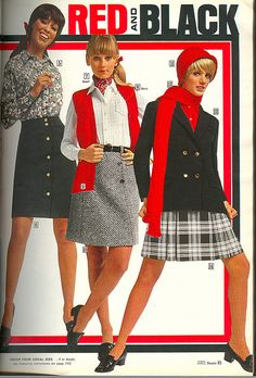 Red and Black: 1969 Sears Catalog, via Flickr.