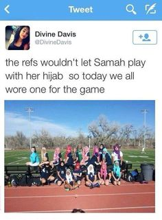 Colorado soccer team don headscarves in solidarity with Muslim teammate.