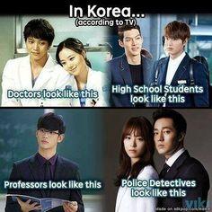 In Korea... cr: on the pic  #kpopmeme #kdramameme #korea #joowon #moonchaewon #kimwoobin #leeminho #kimsoohyun #sojisub