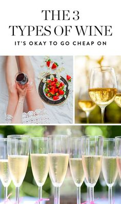 The 3 Types of Wine It's OK to Go Cheap On (and 2 You Shouldn't) via @PureWow