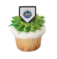 MLB Cupcake Topper Rings  New York Mets *** You can get additional details at the image link. (This is an affiliate link) #DecoratingTools