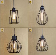 24.53$  Buy now - http://aliqwc.shopchina.info/1/go.php?t=32688482167 - American Creative Retro Loft Style Lamp Vintage Industrial Lighting Pendant Lights Fixtures Bombilla Edison Lampen Lamparas  #magazine