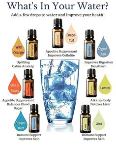 We LOVE adding our doTERRA essential oils in our water for not only the delicious taste but the many health benefits! Here's a great…
