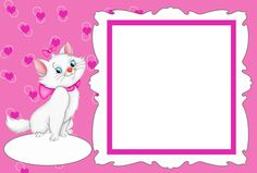 Marie Free Printable Frames, Invitations or Cards. | Oh My Fiesta ...