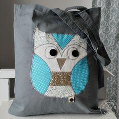Torba Sowa - Owl Bag My Works, Owl, Bags, Handbags, Owls, Bag, Totes, Hand Bags