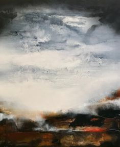 Clouds, Paintings, Abstract, Artwork, Outdoor, Summary, Outdoors, Work Of Art, Paint