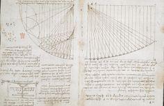 Оцифрованные дневники Леонардо да Винчи опубликованы онлайн 18