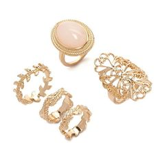 Forever 21 Leaf Midi Ring Set ($6.90) ❤ liked on Polyvore featuring jewelry, rings, forever 21, top finger rings, above-the-knuckle rings, mid knuckle rings and band rings