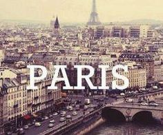 I wanna go to Paris <3