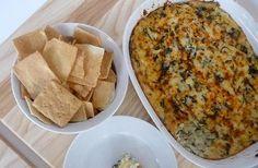heerlijke spinazie artisjok dip!! Recept op site.