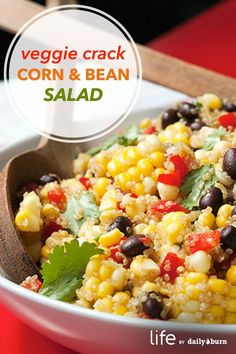 Corn, Black Bean and Quinoa Salad Recipe - Life by Daily Burn