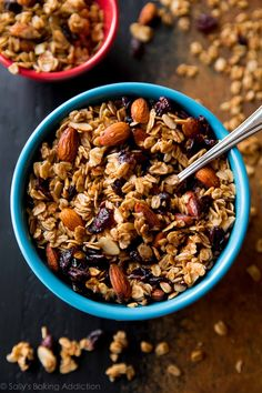 Feel refreshed and recharged with this fall-inspired, wholesome, and crunchy maple almond cranberry granola recipe!