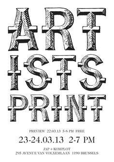 Artists Print