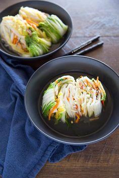 White Kimchi (Baek Kimchi) | MyKoreanKitchen.com