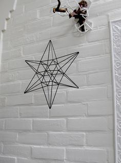 Etsy の LUCKY STAR Himmeli Modern Hanging Mobile by PrettyMyHome
