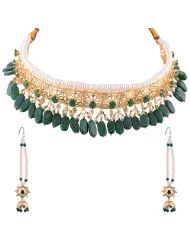 Smart Deal Jewellers Handmade Hyderabadi Bridal Collection Royal Nizam Shahi Guluband 16 pc Green   For Further Info Please check the  below mentioned link we have our presence in Amazon.in http://www.amazon.in/s/ref=bl_sr_jewelry?ie=UTF8&field-brandtextbin=Smart+Deal&node=1951048031