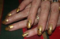 Thulian In Wonderland: Christmas nails and stars from bundlemonster image plate BM14