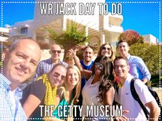 Marisa, Perry, Kavon, Stephanie, Christin, Ryan, Nia, Stephen and Marcus of the West Coast team spent a day together at the Getty Museum. #Inspiration #Art  #DaytoDo