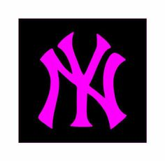 New York Yankees Pink Collection   New York Yankees Logo Pink MorePink Yankees Logo