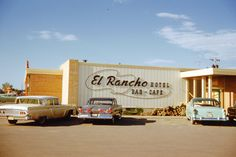 El Rancho Motor Hotel, Williston, North Dakota, June 1959.