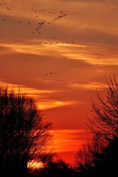 Sunset in Lebanon County, PA