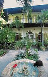 Key West, Florida (this is Ernest Hemingway's house) D (9) Has read The Old Man an the Sea, he'd love to see Henningway's house! http;//worldtravelfamily.com
