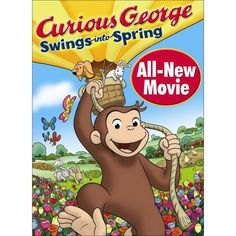 Shop Curious George Swings into Spring [DVD] at Best Buy. Find low everyday prices and buy online for delivery or in-store pick-up. Pbs Kids, Family Movies, Top Movies, Universal Studios, Spring Movie, Curious George, Fantasy Movies, France, Best Wordpress Themes