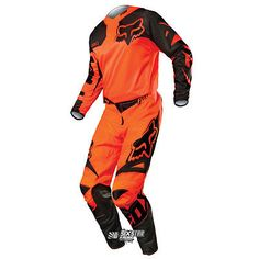 2015 Fox 180 Race Orange black KTM Jersey Pant Motocross Gear Kit Combo Enduro