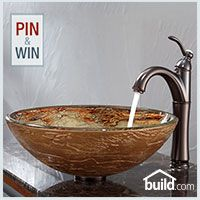 Kraus C-GV-651-12mm-1005 with FVS-1005 from Build.com. 1. Enter to Win via Facebook ( http://bld.cm/S3QOHp ) 2.  Follow Build.com on Pinterest 3. Pin your Favorite Krause Sink and Faucet Combo! #EndlesslyCreativeKraus #KrausPinItToWinIt  #builddotcom