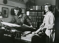 The 10 Coolest Librarians on screen (1956-2002)- Here, Bette Davis in Storm Center (1956)