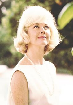 Doris Day with Pearls