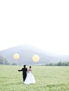 Like I'm gonna go around having a balloon-less wedding.