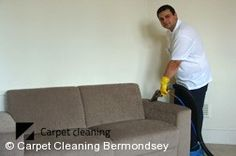 Suede Sofa Cleaners Bermondsey SE1