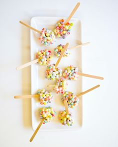 """Trix Stix"" - Trix treats (like rice krispie treats)"