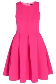Pink Neoprene Sleeveless Dress. Party Dress. Night out dress. #ShopSimple