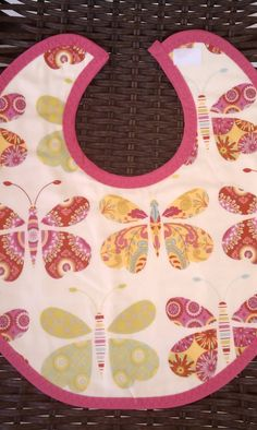 Butterfly bib by rockinghorsedesigns on Etsy, $7.00