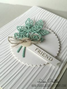 Stampin'Up! Flourish Thinlits, Make a Medallion stamp set, clean and simple, handstamped, DIY, papercrafting, step it up sunday, #lisapretto #inkbigacademystamps