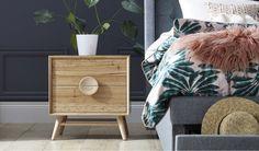 Taringa bedside table Value Furniture, Bedroom Furniture, Stair Lift, Day And Time, Bedside, Table, Design, House, Bed Furniture